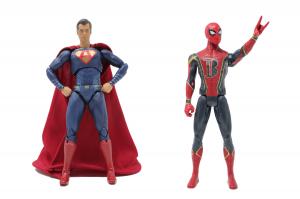 A level super man vs IB Spiderman