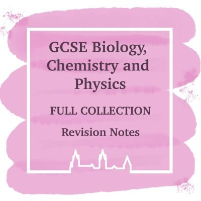 GCSE AQA Physics, Chemistry & Biology