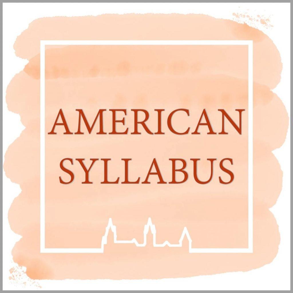 American Syllabus tuition