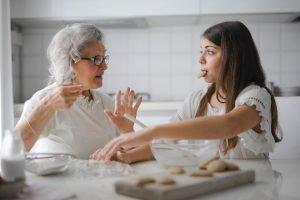 Grandparent mentoring role models